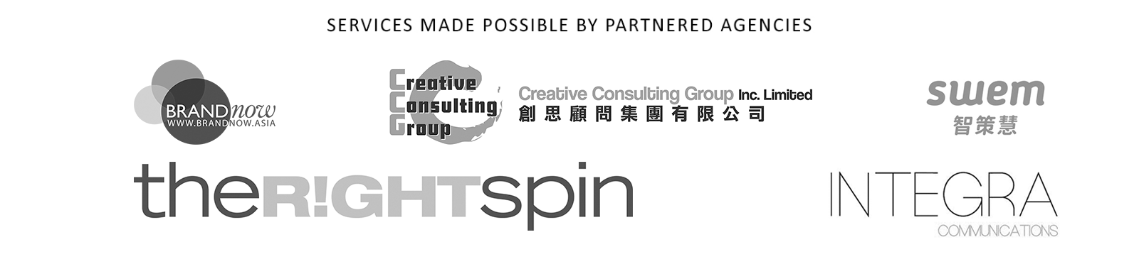 Partnered Logos